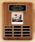 American Walnut Photo Perpetual Plaque Religious Awards