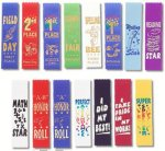 Pinked Cut Scholastic Award Ribbon Volleyball Award Trophies